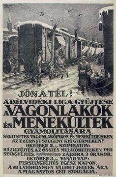 A Délvidéki Liga adománygyűjtő plakátja (1920)