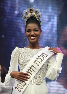Image result for Model Titi Aynaw, First Ethiopian Miss Israel, Shares 5 Leadership Lessons