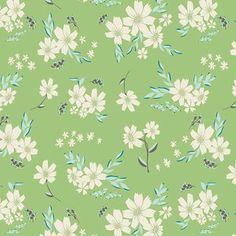 Bonnie Christine - Winged - Flyaway Petalums in Vert pillowcases