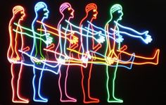 Five Marching Men - Bruce Nauman