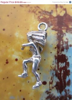 ON SALE Summer Sale Sterling Silver Running Warrior by PGSCoins