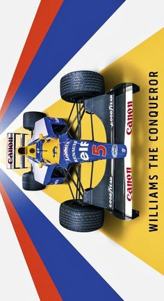 Aryton Senna, Nigel Mansell, Williams F1, Formula 1 Car, Karting, Automotive Art, F1 Racing, Retro Cars, Designs To Draw
