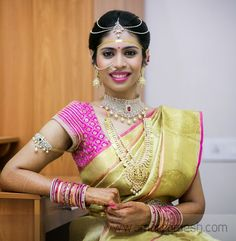 Jewellery Designs: South Indian Bride Tremendous Jewelry