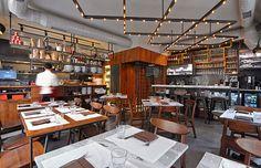 an italian restaurant at karakoy - istanbul by cisimdesign