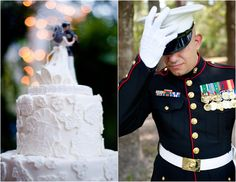 A Military Story: {Real Wedding} Shannon & Robert