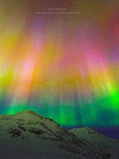 ˚Candy Aurora Borealis - Alaska by Noppawat Charoensinphon @ 500px