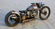 swap meet crap rat bike of the day   fna's bmw r75/5 bobber   bikerMetric