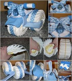 Tricycle Diaper Cake as a Perfect Baby Shower Gift