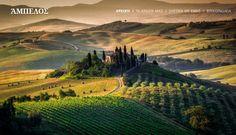 Scenic Tuscany Landscape At Sunrise, Val DOrcia, Italy Stock Photo - Image of quirico, orcia: 46629140 Tuscany Landscape, Landscape Art, Landscape Fabric, Siena Italia, Cagliari, Empire Romain, Places In Italy, Tuscany Italy, Italy Italy