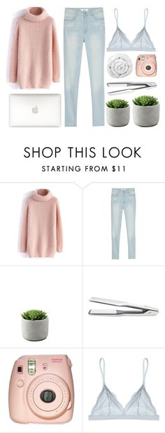 """""""come together"""" by scallydragon ❤ liked on Polyvore featuring Chicwish, MANGO, T3, Cosabella and Brinkhaus"""