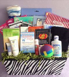 Cancer Get-Well Baskets | Rock the Treatment™. Chemotherapy GiftsGift Baskets For ...