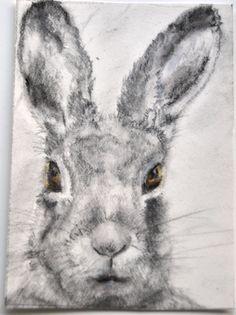 Original ACEO Artwork - March Hare