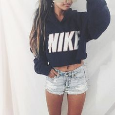 Image result for ripped hoodie cropped