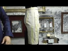 TR Cutting School-Moulage on Body by Shingo Sato-Cropped Trousers - YouTube