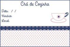 Blog do passo a passo: convite chá de panela convite chá de cozinha moldes modelos para imprimir
