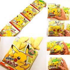 Pokemon Bakauke Corn  Potage! . Con sabor a potaje de maíz  y una textura ligera y crujiente hecho 100% con ingredientes autóctonos.  Sé feliz comiendo maíz con la forma de tus Pokémon favoritos. . 4 paquetes incluidos en la  Sumo! 1 paquete en la  NINJA. . www.boxfromjapan.com . #boxfromjapan #bfjmarzo #pokemon #pikachu