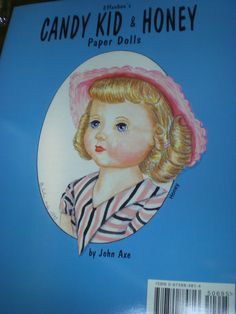 Vintage Effanbee Paper Dolls Honey