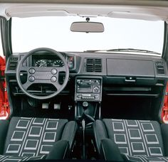 Vw scirocco, Mk1 and Interiors on Pinterest