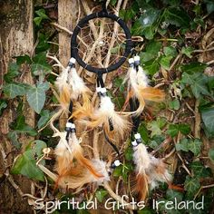 ⛺Add some Native American vibes to your room with these cute handmade Dreamcatchers. Legend has it that the Dreamcatcher web filters out all the bad dreams, allowing only good thoughts to enter your mind⛺ Follow us on : www.facebook.com/spiritualgiftsireland www.instagram.com/spiritualgiftsireland  www.etsy.com/shop/spiritualgiftireland