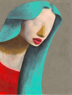 Guim Tió Zarraluki is an artist from Barcelona, Spain. Strange lovely faces and original characters. A very intense work.
