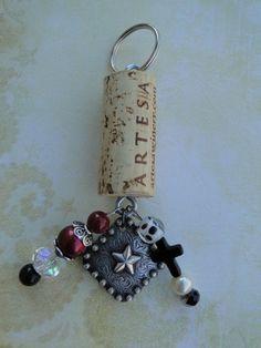 WHOLESALE LOT 6 Western Texas Star Berry Concho Bottle Opener Souvenir Keychain