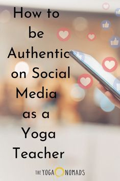 How to be Authentic on Social Media as a Yoga Teacher. How to stay authentic when posting about your yoga classes. Yoga Teacher Quotes, Yoga Quotes, Citations Yoga, Teaching Philosophy, Yoga Breathing, Bhakti Yoga, Travel Yoga Mat, Teaching Jobs, Yoga Poses For Beginners