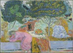 Pierre Bonnard | Morning in the Garden at Vernonnet | The Met 1917