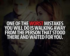 Worst mistakes