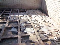 recycled concrete pavers