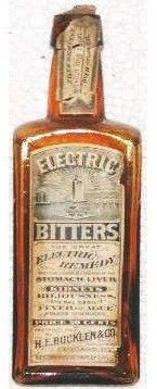 The mysterious powers of Electric Bitters. (Matt's Collectibles - Antique Medicines - Electric Remedies)