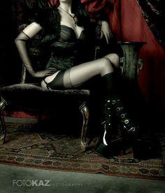 goth # gothic # darkness # black corset