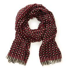 Cute tweed scarf