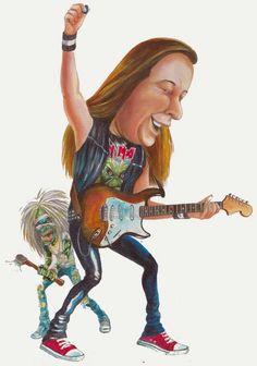 Hard Rock, Iron Maiden Band, Dave Murray, Music Artwork, Heavy Metal Bands, Rock Legends, High Art, Just For Laughs, Rock Music