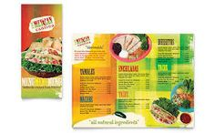 Mexican restaurant take out brochure template design StockLayouts Excel Calendar Template, Menu Template, Brochure Template, Templates, Tamales, Enchiladas, Take Out Menu, Tacos, Brochure Inspiration