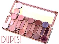 MAC Dupes for Urban Decay's Naked 3 Palette