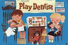 Vintage dental poster, from your pediatric dentist locator, Dentists 4 Kids. www.dentists4kids.com #Dentists4Kids #pediatric-dentist