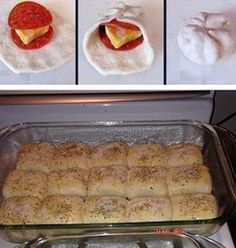 Home made Pizza Rolls - Lovefoodies hanging out! Tease your taste buds!