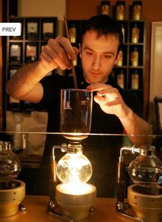 Jaho, Best Coffee Shop in Boston. Syphon coffee... #Boston #foodie.