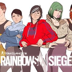 ArtStation - Shape in the darkness, Qi Sheng Luo Tom Clancy's Rainbow Six, Rainbow Six Siege Anime, Rainbow Six Siege Memes, Rainbow 6 Seige, Rainbow Art, Comic Book Pages, Comic Books, R6 Wallpaper, Gamer Quotes