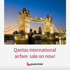 Great international fares are on sale now from Qantas. Sale ends December 23 http://www.corporatetraveller.com.au/qantas-sale-singapore-and-bangkok-now-0