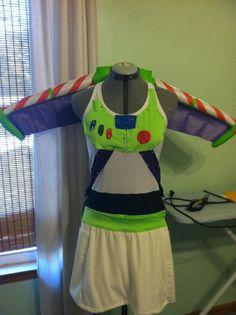Buzz Lightyear inspired Running Costume. $250.00, via Etsy.    I. NEED. THIS.