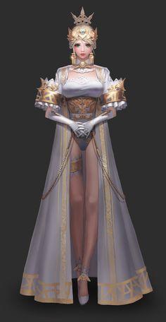 Princess, Yeo incheol on ArtStation at https://www.artstation.com/artwork/PRn5L