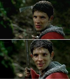 OMG HE WAS SO ADORABLE IN CHAIN MAIL WHY DID THIS ONLY HAPPEN ONCE?