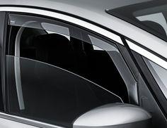 Ford S-Max - ClimAir, deflettore finestrino laterale, anteriori e posteriori, grigio chiaro o grigio scuro.