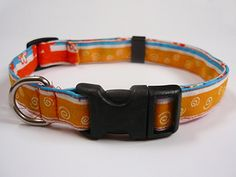 Share Tweet Pin Mail Ilse from Sew It Love It shares with us how to create an adjustable dog collar.  All you need ...
