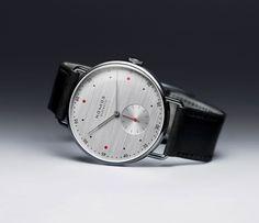 Nomos' At Work series debuts a new silvercut dial - Acquire