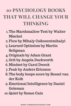 Want to change how you think? Why not read psychology books that explain why we behave the way we do? These will change your thinking and perspective Book Club Books, Book Nerd, Book Lists, Good Books, Books To Read, My Books, Cultura Nerd, Psychology Books, Degree In Psychology
