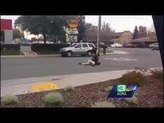 Sacramento Man Head Stomped , Beaten In Street By Sheriff's Deputy   YouViewed/Editorial