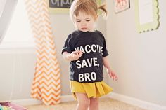 Black toddler shirt printed on American Apparel tri-blend. Available in sizes 6 months-6 years.