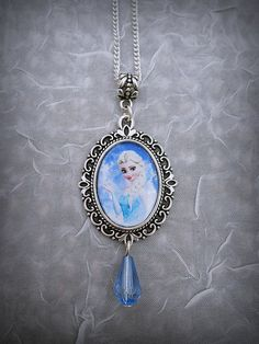 Disney's Frozen Elsa Necklace by BaroquenChord on Etsy, £5.00